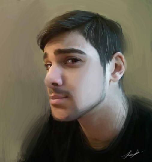 Jahred Portrait by xXNiquaQuezXx