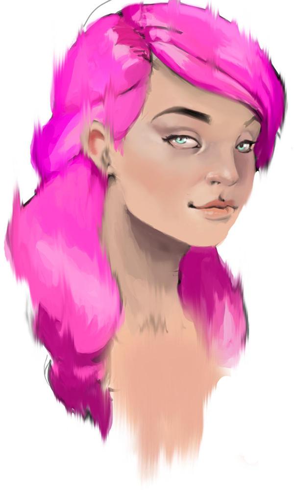 Girl 1 by varnage