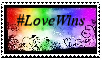 #LoveWins Stamp by LoveDystopian