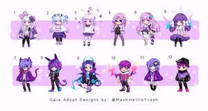 [CLOSED 0/12] Purple Velvet Gaia Adopts OTA
