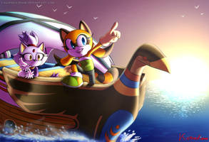 Contest Entry - Let's go for a new adventure! by Karneolienne