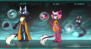 Reference - Glow, Flow and Glimmer by Karneolienne