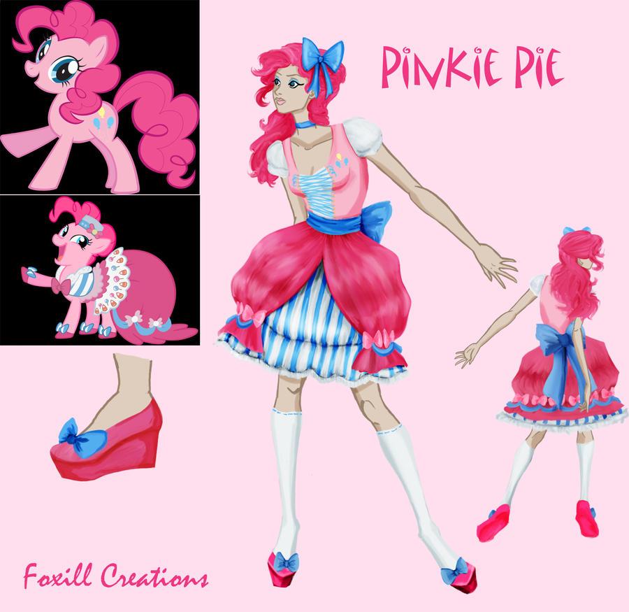Pinkie Pie Fashion by LadyFoxill