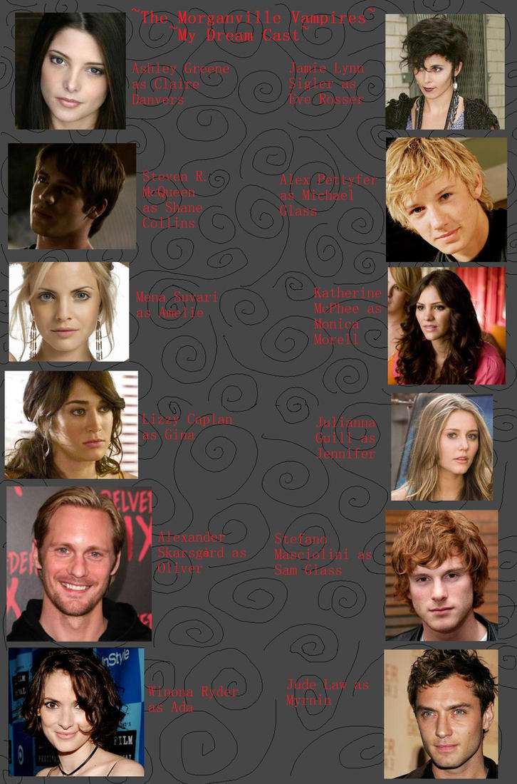 Morganville Vampire Dream Cast by Xxvampire-kitsunexX