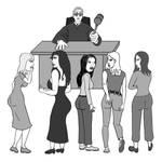 Courtroom hi-jinks