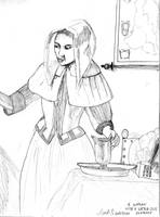 A Woman with a Waterjug by DungeonWarden