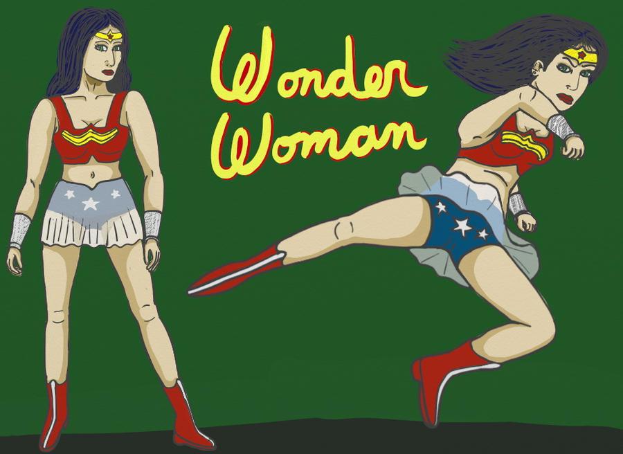 Wonder Woman redesign by DungeonWarden