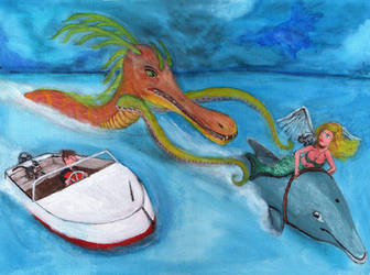 Ocean Adventure by DungeonWarden