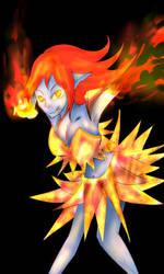 Larya the fire elf