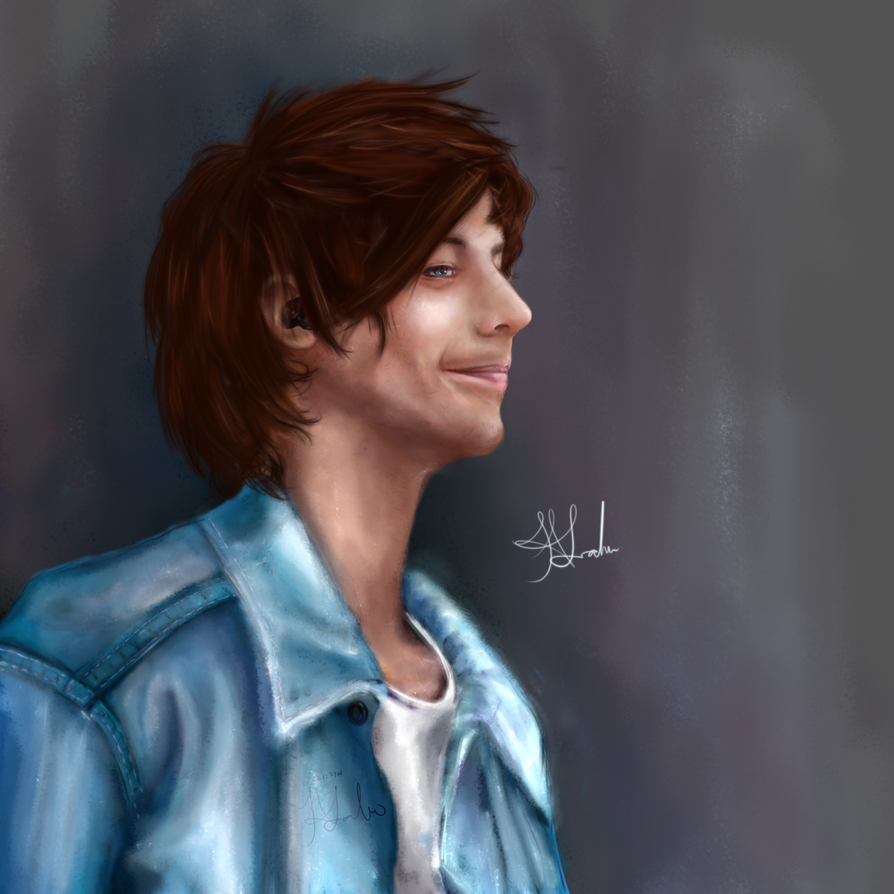 Louis Tomlinson by SingingtheBlues