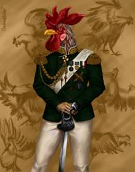 General Chicken Final by checkeredchicken