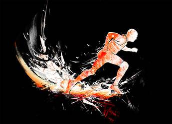 Running Man - WIP by kuda14