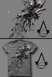 Assassin's Creed Unity: Assassinate by kuda14
