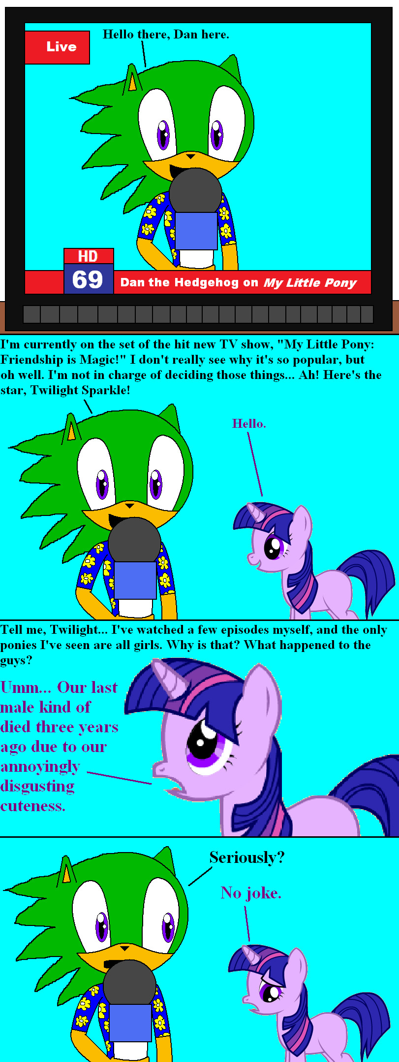 on the set of my little pony   page one by thehappyspaceman01-d4f95ek    My Little Pony Pee