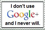 No more Google Minus. by TheHappySpaceman01
