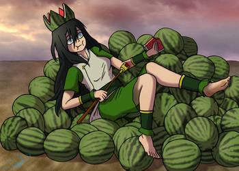 Melon Lord by The-Happy-Spaceman