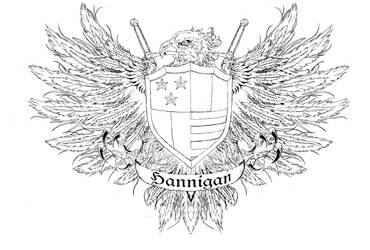 Hannigan Family Crest by ShaneLongshadow