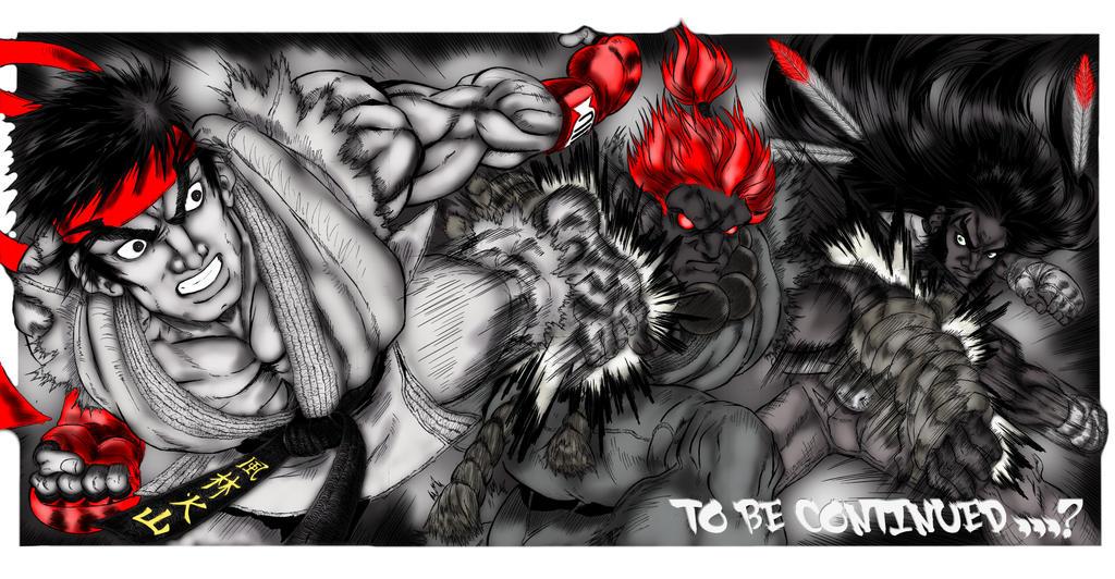 Page Ryu 24-25-26 by ShaneLongshadow