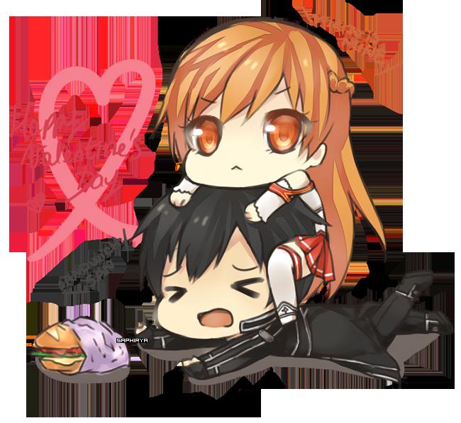 Happy valentine 39 s day by saphirya on deviantart - Happy valentines day anime ...