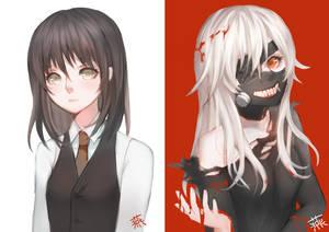 Tokyo Ghoul : Kaneki Ken genderbend