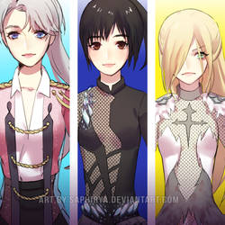 Yuri !!! On ice genderbend