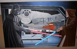 Darth Vader Obi Wan
