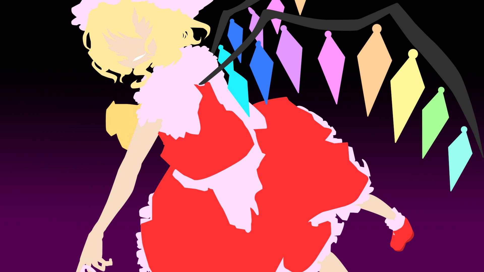 touhou flandre scarlet wallpaper - photo #39