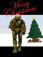 Christmas-Chief by NinjaCoffee