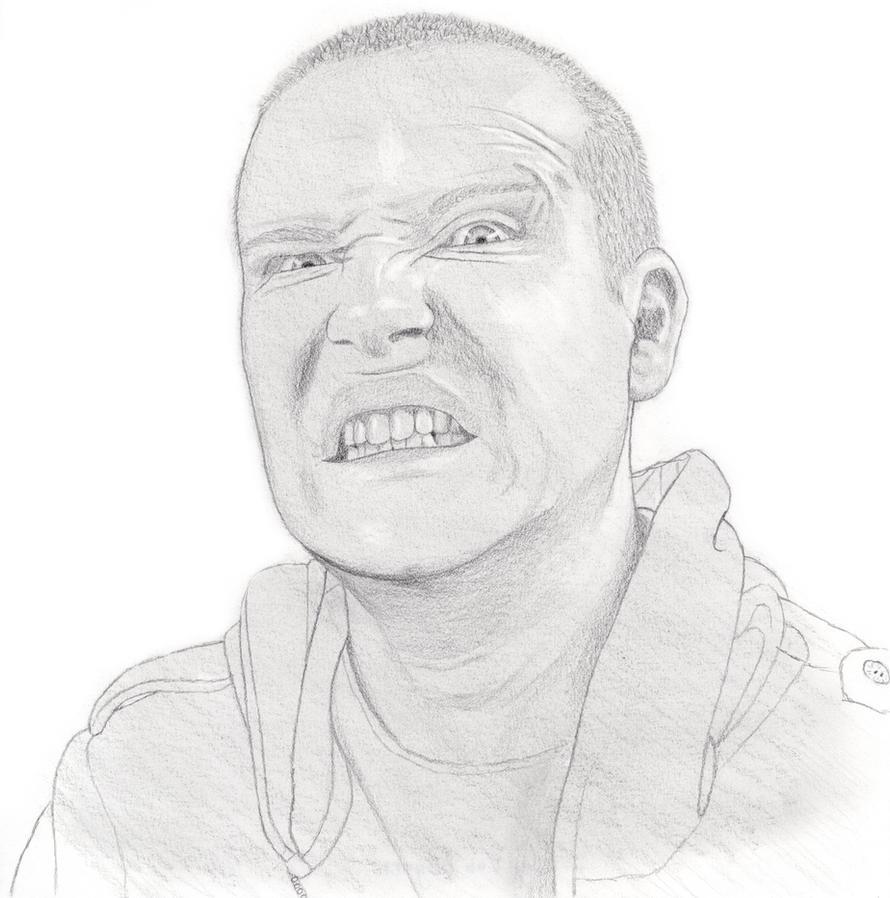 Self Portrait - Crazy Face by Praze on deviantART