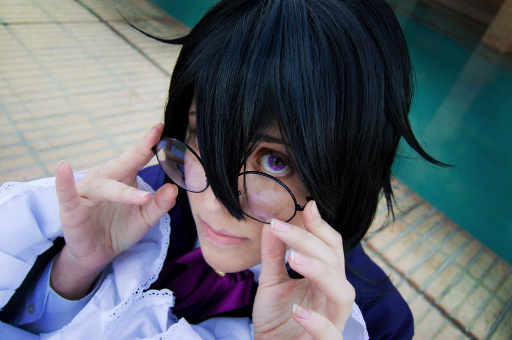 Pandora Hearts - The boy who could see them by MitsukoUchiha
