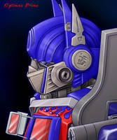 Movie Optimus Prime 1 by J-666