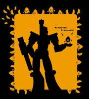 Megatron and Kremzeek by J-666
