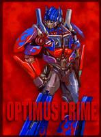 Movie Optimus Prime 3 by J-666