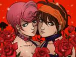 Trish and Narancia