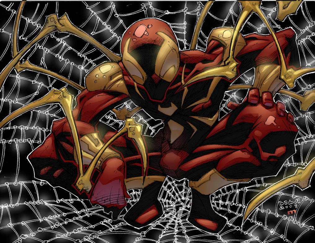 Iron spiderman vs spiderman - photo#5