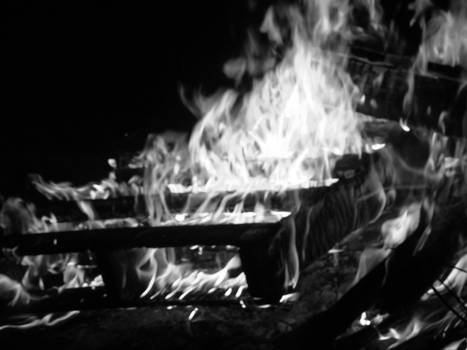 Black and White Fire 1