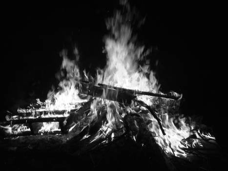 Black and White Fire 2