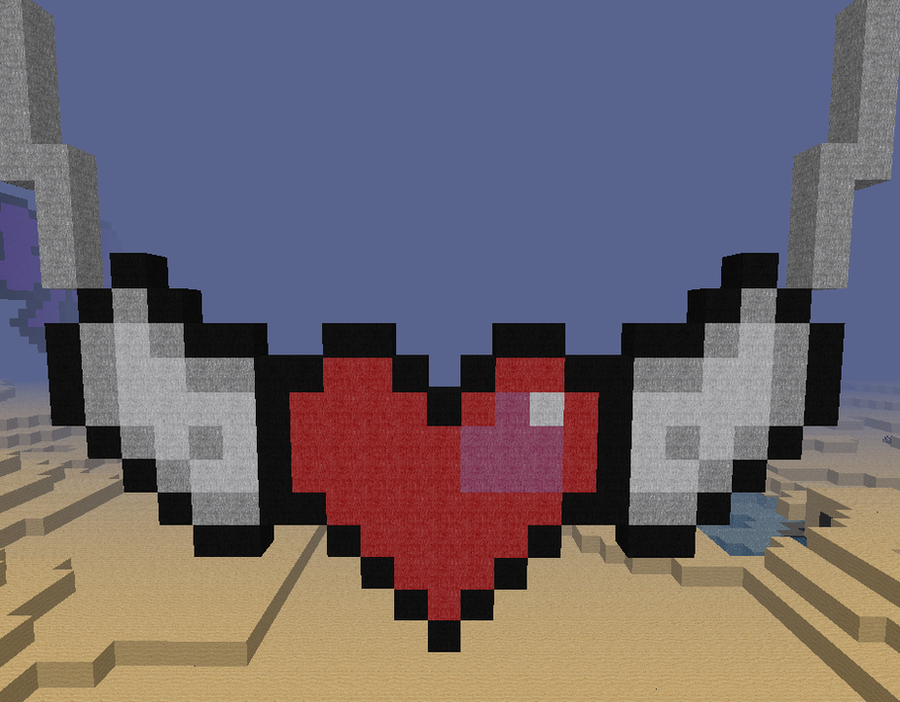 how to change the hearts color in minecraft