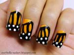 cutepolish inspired Butterfly Nail Art Design