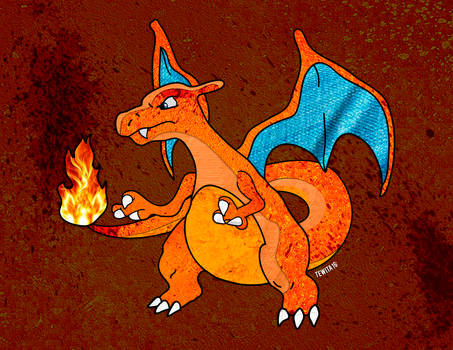 Charizard by tewi
