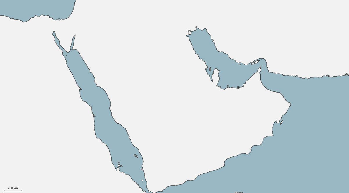 Blank map of the arabian peninsula by TheGreatLocust on DeviantArt