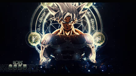 Hope Goku by xBlakeKing