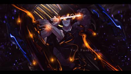 Toji Fushiguro by xBlakeKing