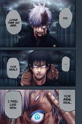 Gojo vs Toji by xBlakeKing