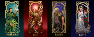 The Four Ladies of the Apocalypse