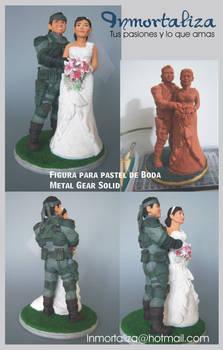 Figura Metal Gear Solid Topper Cake