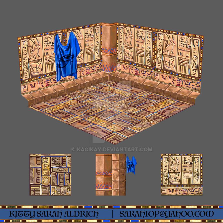 Ancient Egyptian Textures by KaciKay