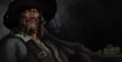Hector Barbossa by point-maitimo