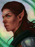 Commission - High Elf (TES Online trailers)