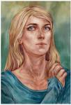 Commission - Watercolor portrait